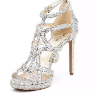 Michael Kors Platform Glitter Shoes Sandals Heels